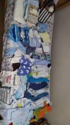 Lote roupa de menino.