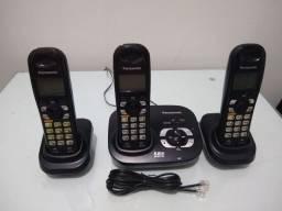 Vendo telefone sem fio Panasonic usado e funcionando