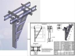 Faço seu Desenho - SolidWorks, AutoCad e Feito a mão - acadêmicos e profissionais