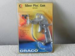Silver plus gun - pistola original Graco para pintura apenas R$1.299,00 importado
