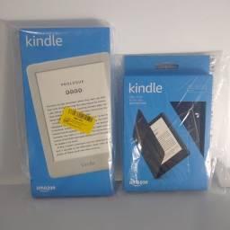 Kindle 10ª Geração WiFi 8GB Branco + Capa Kindle