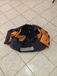 Bolsa ASW Motocross Motociclismo (mala / equipamentos/ trilha / off-road)