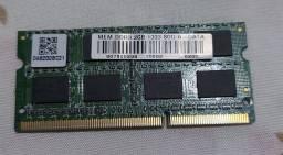Memoria de Note DDR3 1333MHZ 10600S