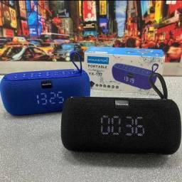 Título do anúncio: Caixa de Som Bluetooth Portátil H'maston YX-177 Com TWS, Relógio,FM