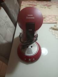 Título do anúncio: Cafeteira Philips Senseo Pilao automática - Faz 2 cafés por vez - Estado de novo!!