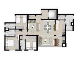Apartamento 3 quartos - Vivaz Home Resort -  Vila Aviação, Bauru ? SP