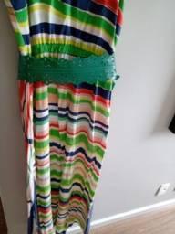 Vestido longo Zinzane P