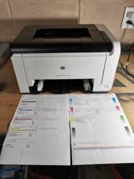 Impressoras laser colorida HP cp1025
