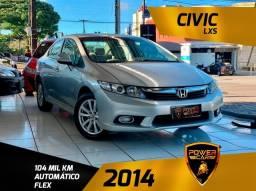 Honda civic lxs 2014 única dona completão