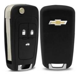 Carcaça de chave Chevrolet, Volkswagen, Fiat.