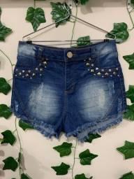 Título do anúncio: short jeans com spikes