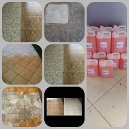 Limpa piso e porcelanato a seco