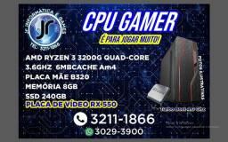 Título do anúncio: _Gamer - Ryzen 3 3200 - 3.6 Turbo Bost 4.0 - 6MB Cache