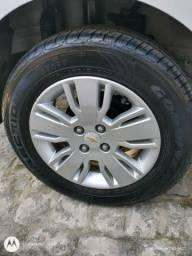 Jogo de rodas, com pneus novos