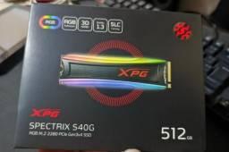 SSD Adata XPG Spectrix S40G 512GB M.2 NVME, RGB