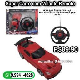 Super Carro com volante remoto
