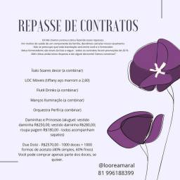 Repasse de Contratos de Casamento/Eventos Pernambuco