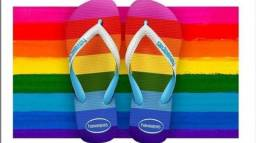 Chinelo Havaianas Top Pride All Over