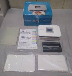 Impressora Canon selphy cp740 + kit 36 fotos.