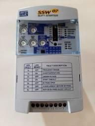 Título do anúncio: Soft Starter WEG SSW07 30A 20CV Nova!