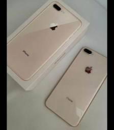 iPhone 8 Plus Gold Rose 64Gb Novinho.