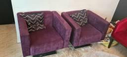Cadeiras ou poltronas Giratórias pés de inox
