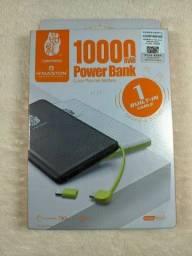 Título do anúncio: Bateria Portatil Celular  Slim 10000mah  Original