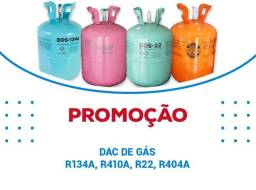 Gás R22. R410. R134 venda kg
