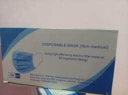 Caixa máscaras descartáveis