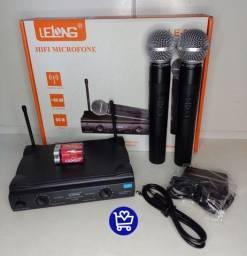 Microfone profissional dinâmico LE-906 R$350,00(Entrega Gratis)