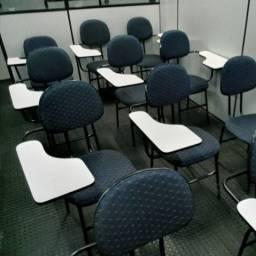 Cadeira Universitária Revestido em Tecido