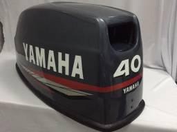 Capô do  Yamaha 40HP - XMHS moderno boleado 2012