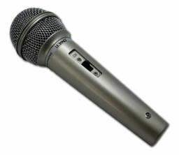 Título do anúncio: Microfone Prata Com Fio Profissional Dinamico