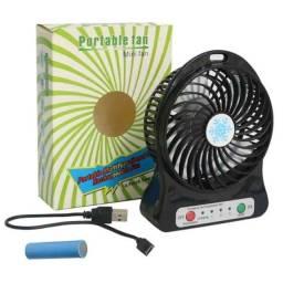 Título do anúncio: Mini Ventilador Portátil Recarregável Silencioso Com Bateria Interna