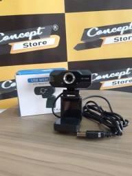 Título do anúncio: Web Cam 1080p HD Auto Focus (NOVO)