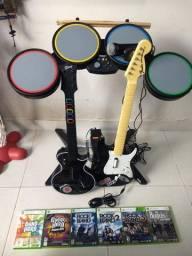 Banda Rock Band / Guitar Hero para Xbox 360
