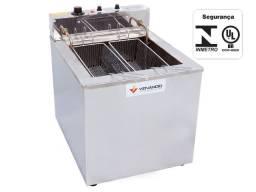 Fritadeira de 23 lts agua e oleo mesa 220v *Arnildo