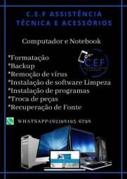 Título do anúncio: Manutenção em computadores