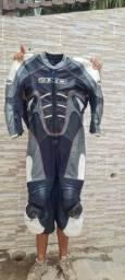Macacão Couro Axo moto
