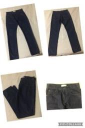 Calça Jeans Masculina Adolescente entre 10 e 12 anos (Tamanho 38