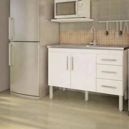 Balcao de cozinha + Balcao de Inox Tramontina