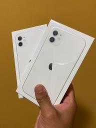 Título do anúncio: iPhone 11 branco 64gb ou 128gb - cubro ofertas