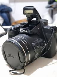 Título do anúncio: ACEITO PROPOSTA - Câmera Semiprofissional Nikon Coolpix B700