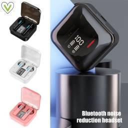 Fone Bluetooth Sem Fio T13 Preto e Branco