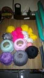 Combo linhas Crochê / tricô/ artesanato
