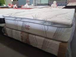 Título do anúncio: > cama queen size < cama com entrega grátis !!!