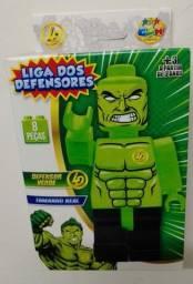Título do anúncio: Bonecos Liga Dos Defensores Para Montar