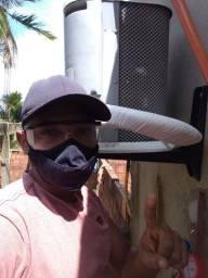 Serviço em ar condicionado inverter e convencional