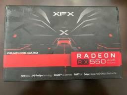 Placa de Vídeo AMD Radeon RX 550 XFX