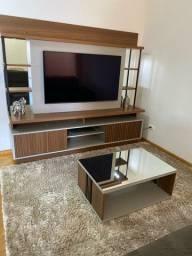 Título do anúncio: Home Linea Brasil com mesa de centro espelhada